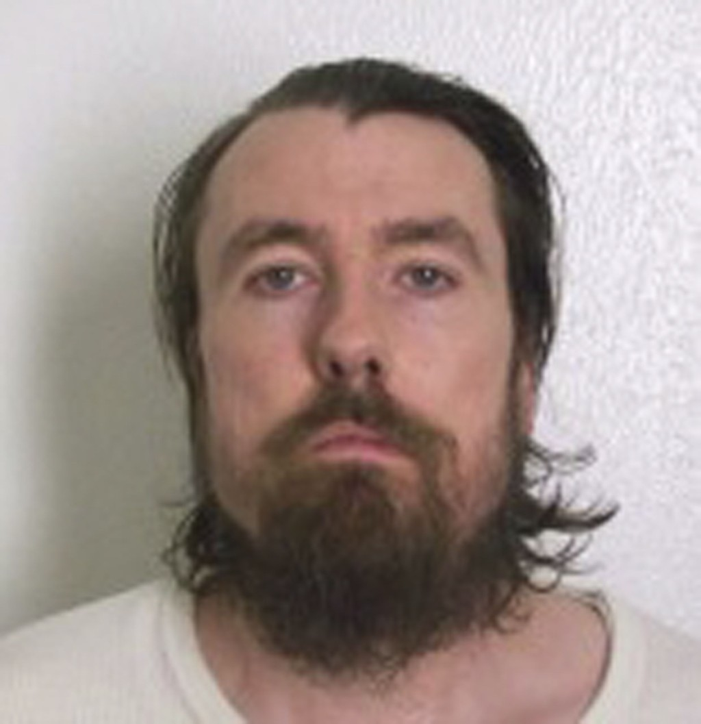 Fangen Gregory Holt som sitter fengslet i Arkansas har fått høyestretts støtte i at han kan gro skjegget 1,3 cm langt. Det er ikke kjent når fotografiet er tatt. Foto: Handout / Reuters / NTB scanpix
