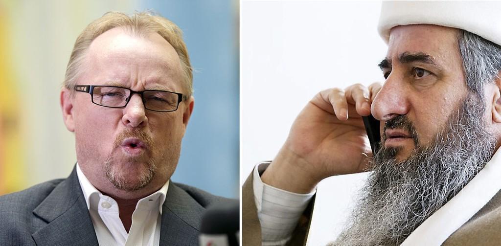 OPPGITT: Per Sandberg er oppgitt over situasjonen rundt mulla Krekar, og mener demokratiet, rettsstaten og Norges råderett over egen sikkerhet latterliggjøres.