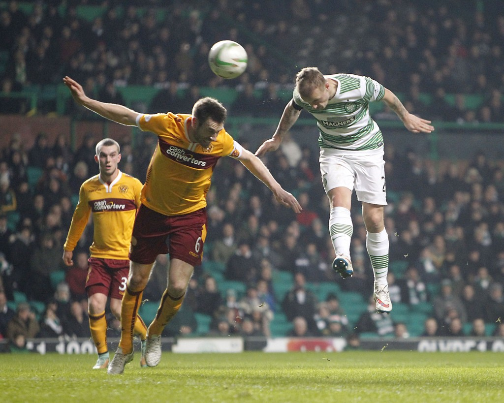 MÅL: Leigh Griffiths scoret mot Motherwell.