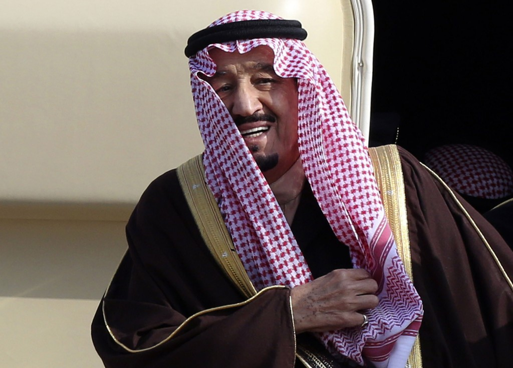 Saudi-Arabias nye konge, Salman bin Abdul Aziz al-Saud, i Tokyo i fjor.