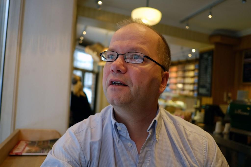 OMSTRIDT: Max Hermansen har fått mye tyn for sitt Pegida-engasjement.