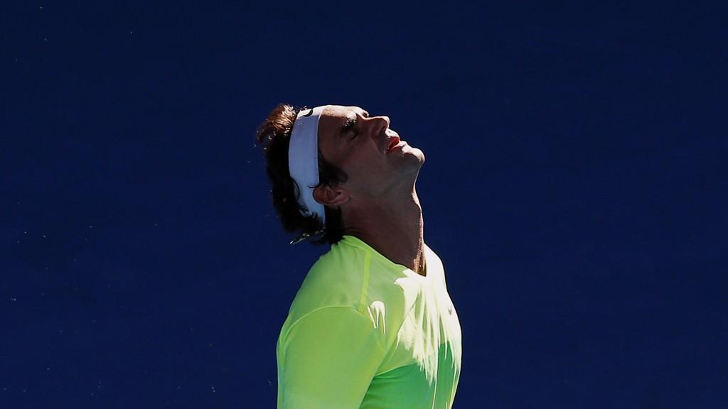 Sjokktap: Roger Federer er ute av Australian Open. FOTO: NTB scanpix