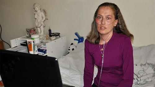Siv Tove Pedersen var avhengig av oksygen døgnet rundt de siste årene.