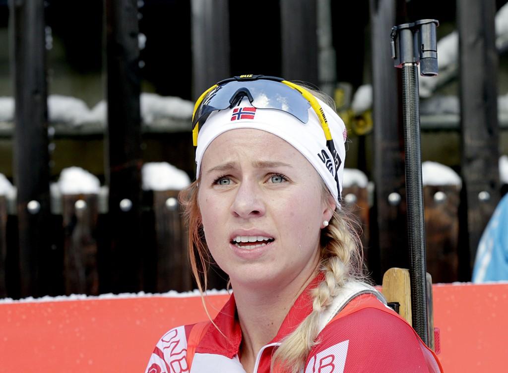 BESTE NORSKE: Skiskytter Tiril Eckhoff.