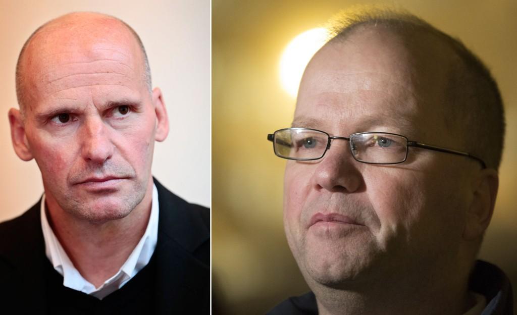 KRITISK: Advokat Geir Lippestad (t.v) mener Max Hermansen må velge en av sine roller.
