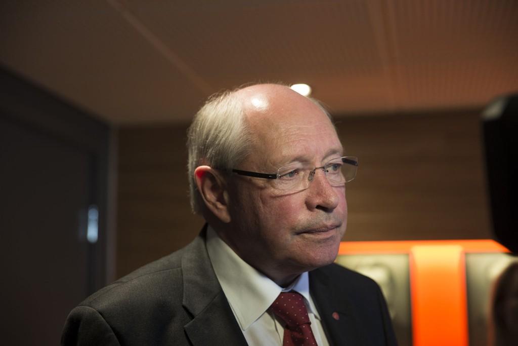 Martin Kolberg sier de nå har spilt ballen videre til sentralstyret og landsstyret i spørsmålet om en eller to nestledere.