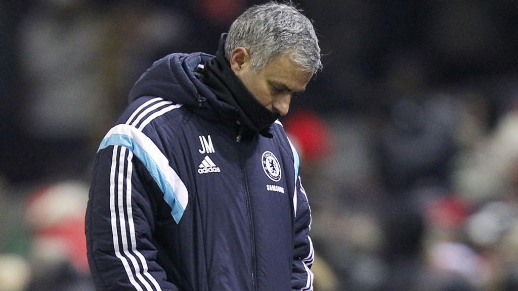 SKUFFET: José Mourinho var krass mot eget lag etter cupfadesen.