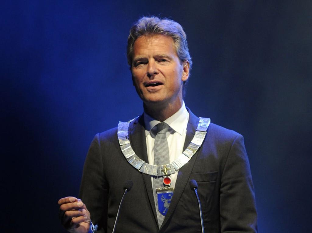 OVERRASKET: Tromsø-ordfører Jens Johan Hjort overrasket alle da han kunngjorde at han ikke tar gjenvalg på Tromsø Høyres nominasjonsmøte lørdag kveld.