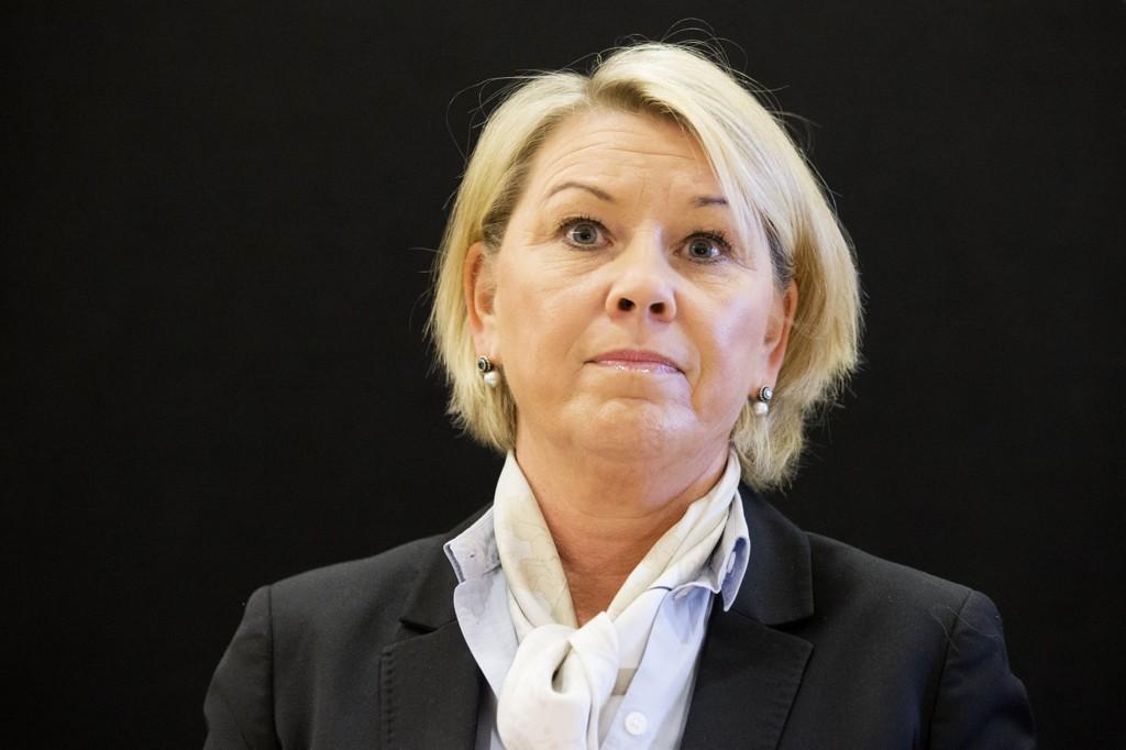 Næringsminister Monica Mæland (H) selger ikke flere selskap i denne omgangen.