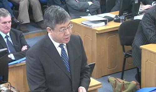 Advokat Robin Tam avbildet under Litvinenko-høringen tirsdag.