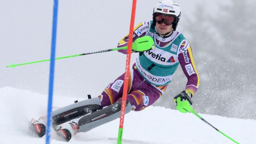 Henrik Kristoffersen ligger på 5.-plass før finaleomgangen.