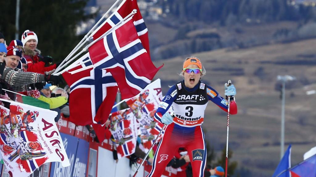 DOMINERENDE: Therese Johaug og de norske skijentene har vært i en klasse for seg denne sesongen. Det kan tære løs på tålmodigheten til enkelte.