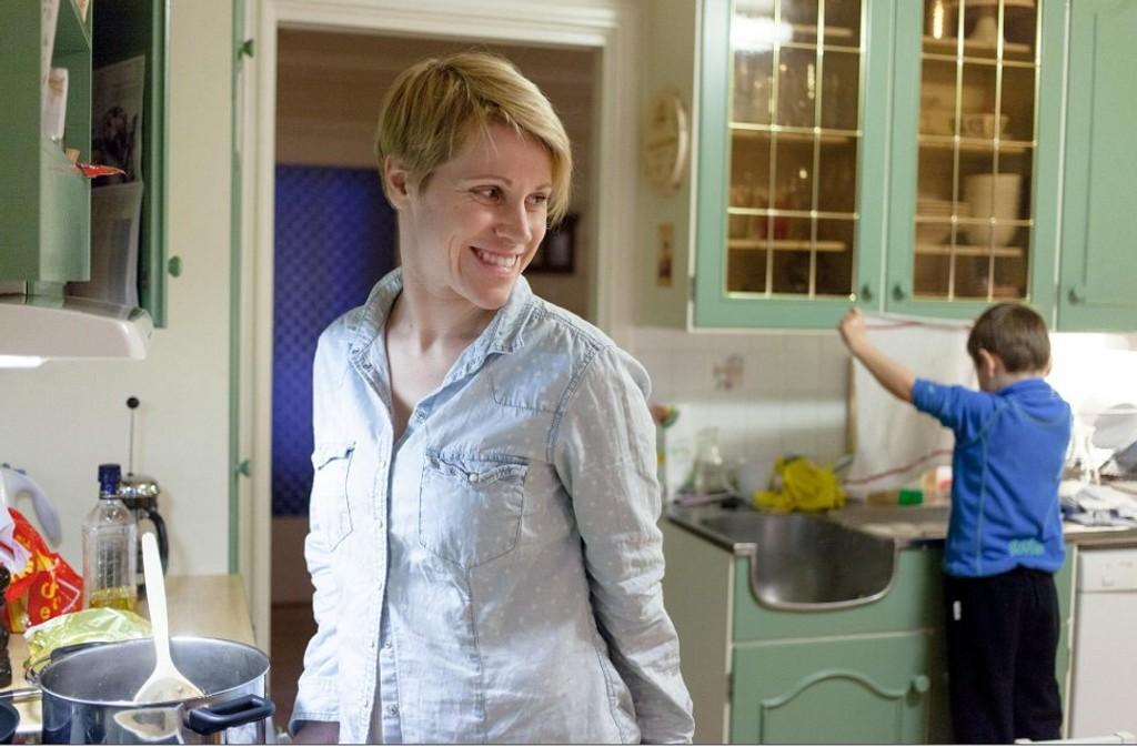 - Eg gav henne ein klem og fortalde ho at ho hadde redda dagen min, seier Siri Kristina Iversen.