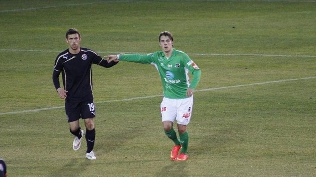 OVERBEVISTE IKKE: Roope Riski fikk det tøft mot Dinamo Zagreb.