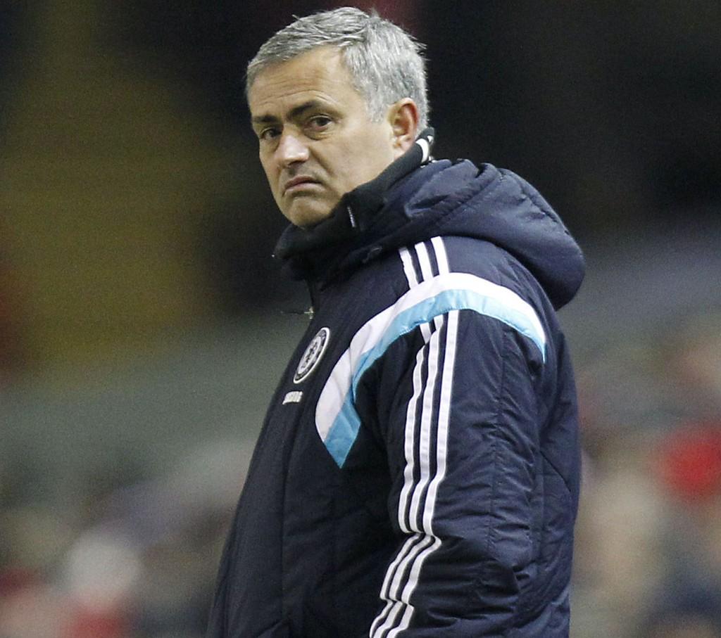 BØTELAGT: Chelsea-manager Jose Mourinho.