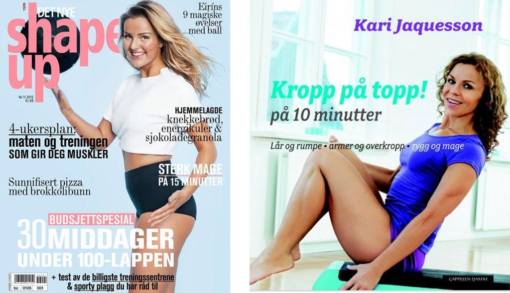 COVER: Jaquesson i 2010 og Det Nye Shape Ups siste utgave.