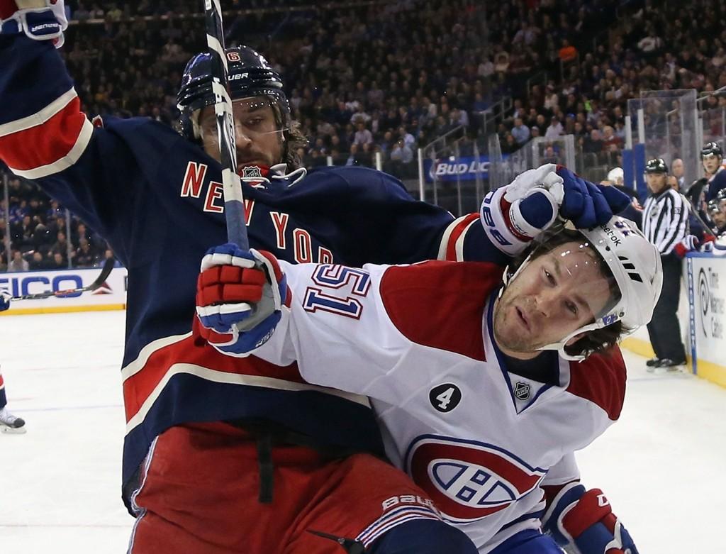 NYTT TAP: Mats Zuccarello aasen i aksjon mot Montreal Canadiens.