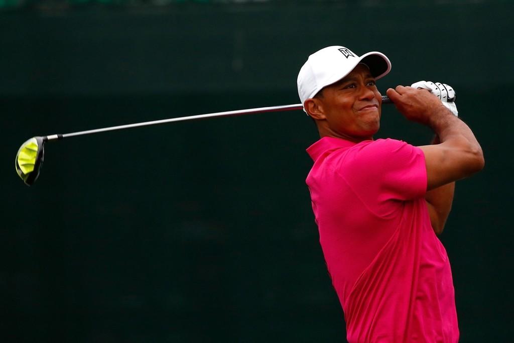 I TRØBBEL: Golfstjerne Tiger Woods.