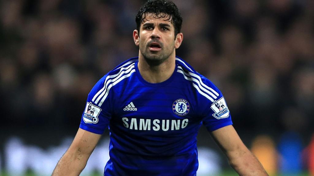 UTESTENGES: Diego Costa må stå over tre kamper.