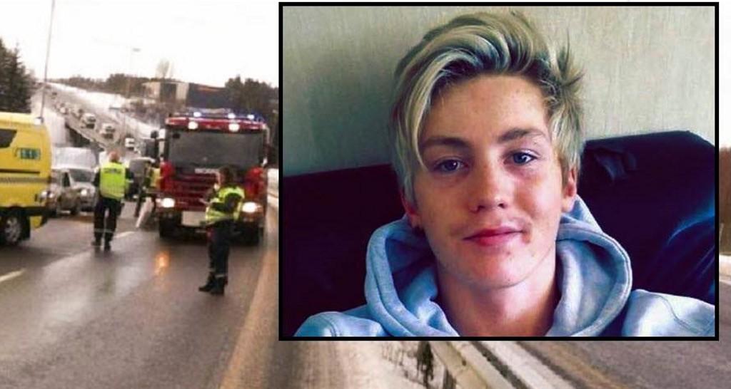 TRAGEDIE: Det var den 20 år gamle Fredrikstadmann Jon-Martin Porsmyr som omkom i ulykken på E18 ved Askim torsdag.