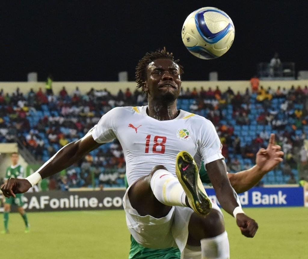 BYTTER KLUBB: Pape Souare bytter ut franske Lille fortsetter karrieren i Crystal Palace. Her i aksjon for Senegal under afrikamesterskapet nylig.