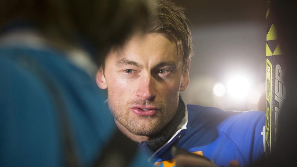 Petter Northug viste konkurrentene ryggen på NM-stafetten søndag.