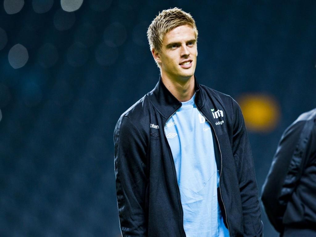 GOD: Markus Henriksen vartet opp med scoring og målgivende da AZ slo Heracles.