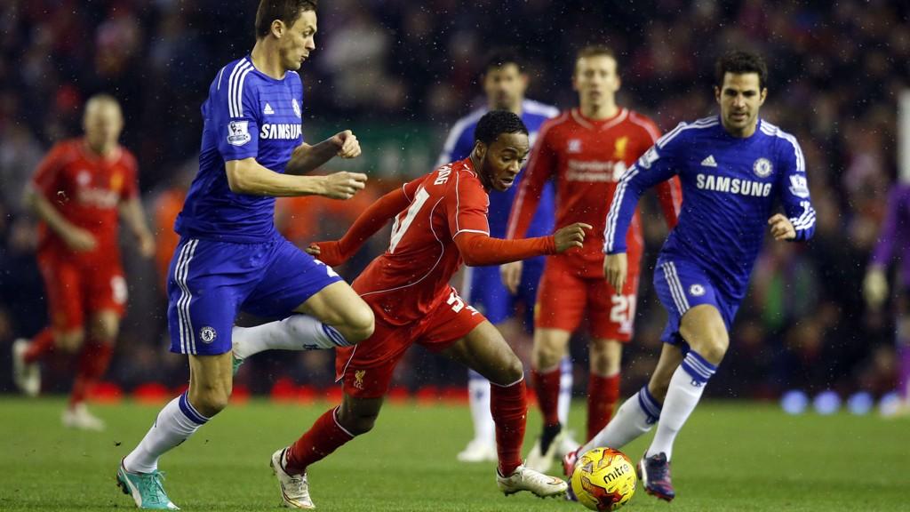 Raheem Sterling spilte to strålende kamper mot Chelsea i ligacupsemifinalen, men klarte ikke å forhindre at Liverpool ble slått ut.