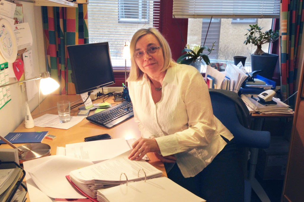 FORSVAREREN: Advokat Solveig Brorson Olsen sier at den parten som klarer å definere sannheten først hos barnevernet eller hos politiet, har fordelen, og at det er vanskelig å snu oppfatningen til barnevernet når den først har satt seg.