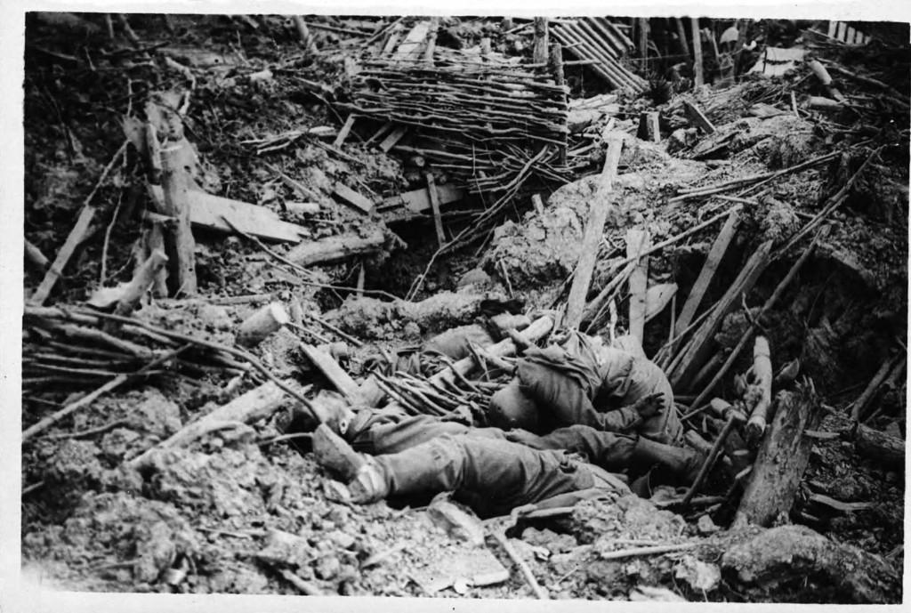 skyttergravene 1 verdenskrig