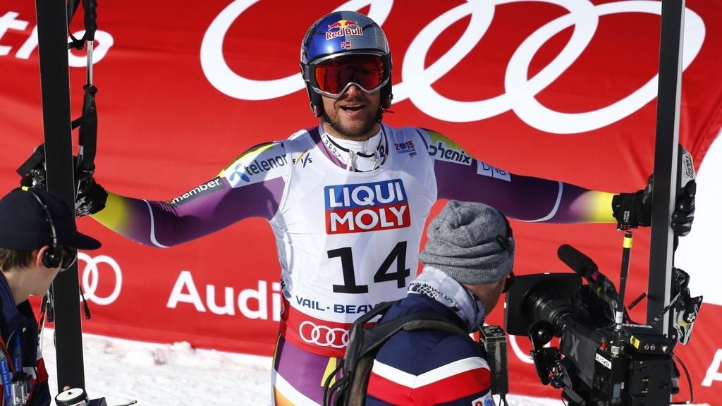 Aksel Lund Svindal endte på en flott 6. plass i VM i Super-G torsdag.