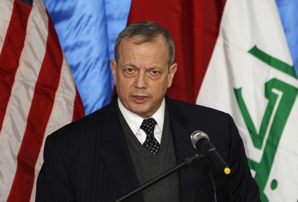 General John Allen er USAs spesialutsending til den internasjonale koalisjonen som kriger mot IS i Irak og Syria.