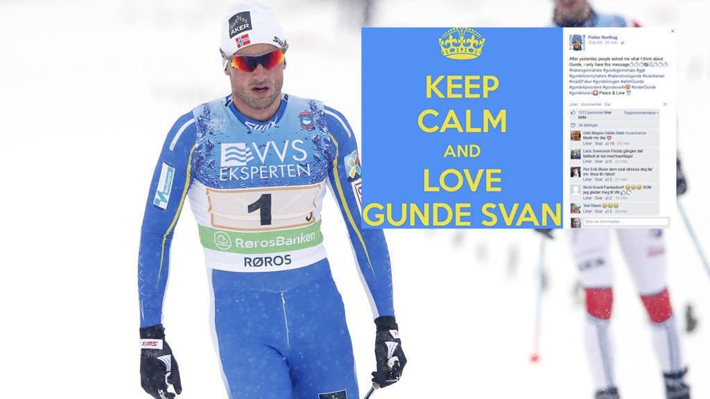 Slik reagerer Petter Northug på kritikken fra Gunde Svan.