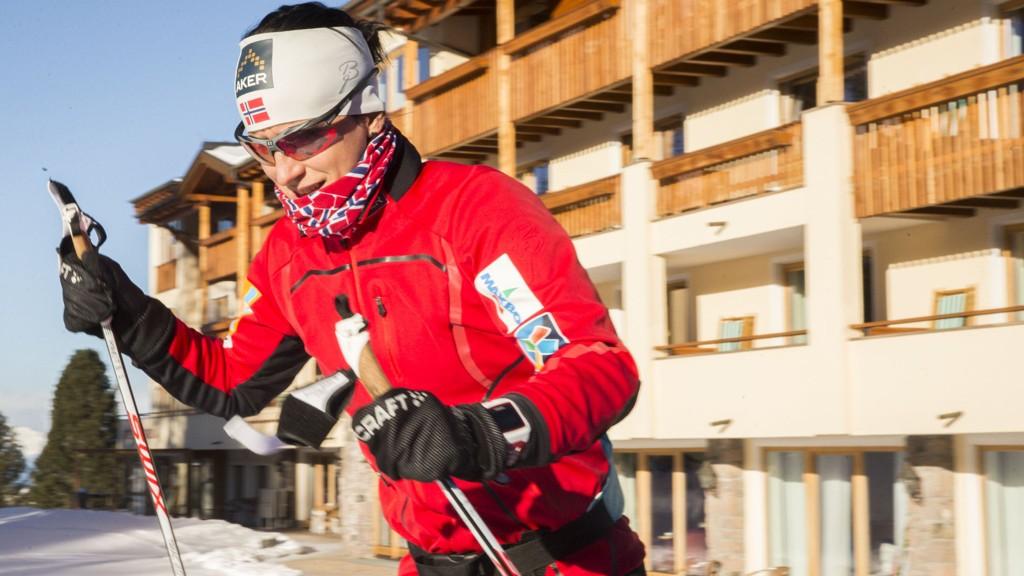 Få steder gjør Marit Bjørgen (34) tryggere enn et høydeopphold i italienske Seiser Alm. Likevel er hun som alltid spent foran et nytt mesterskap.