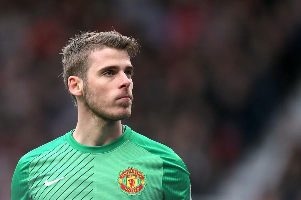 NÆRMER SEG: Manchester United vil forlenge med David De Gea.