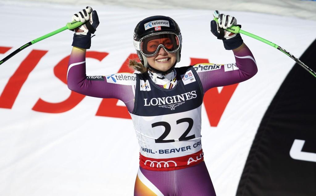 Ragnhild Mowinckel er en av outsiderne i torsdagens storslalåmrenn i alpin-VM.
