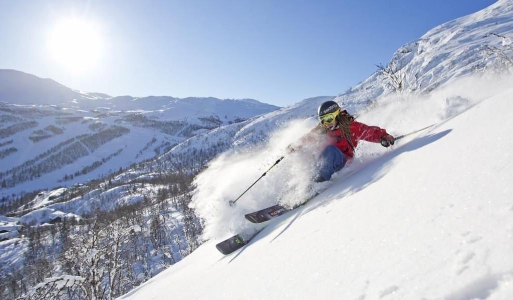 Bildet er fra Hemsedal som er nummer to på listen over alpinanlegget som gir mest for pengene.