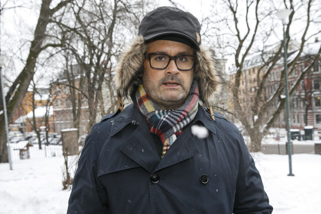 SKAPER OVERSKRIFTER: Programleder Thomas Seltzer.