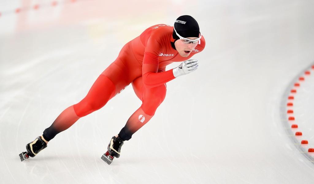 SPRAKK: Skøyteløper Sverre Lunde Pedersen.
