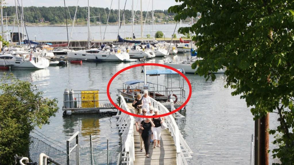 Ferga Lille Herbern frakter gjestene de 30 meterne det er fra fastlandet til øya. Nå er en mann dømt for å ha stjålet båten.