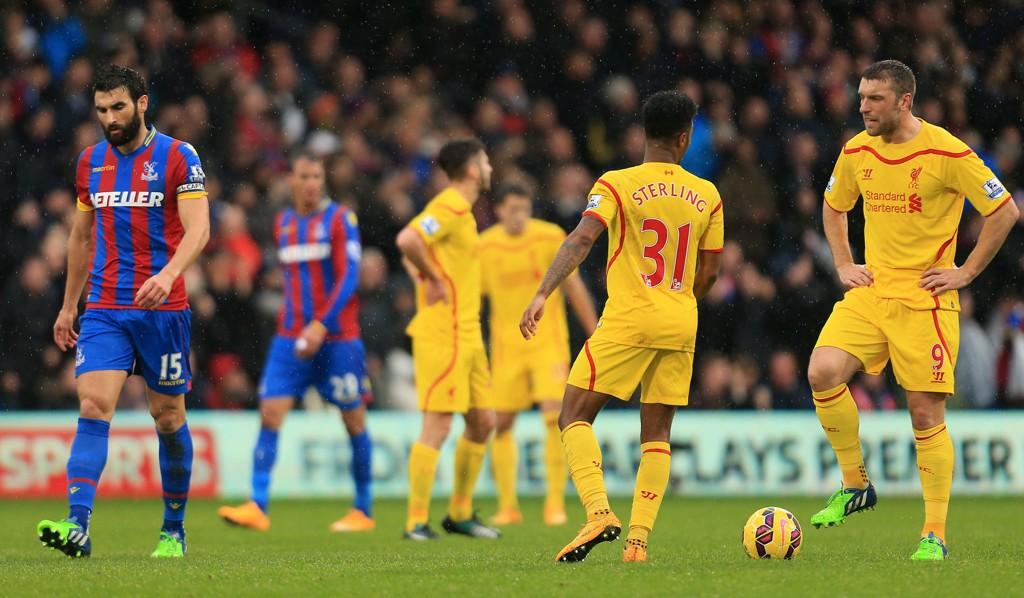 Liverpool tapte 1-3 da laget sist gjestet Selhurst Park, og forrige sesong ble Liverpools gulldrøm knust da Crystal Palace snudde 0-3 til 3-3.