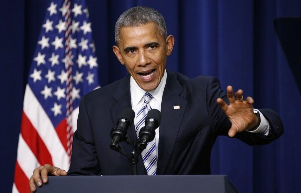President Barack Obama talte onsdag på konferansen om bekjempelse av voldelig ekstremisme i Washington