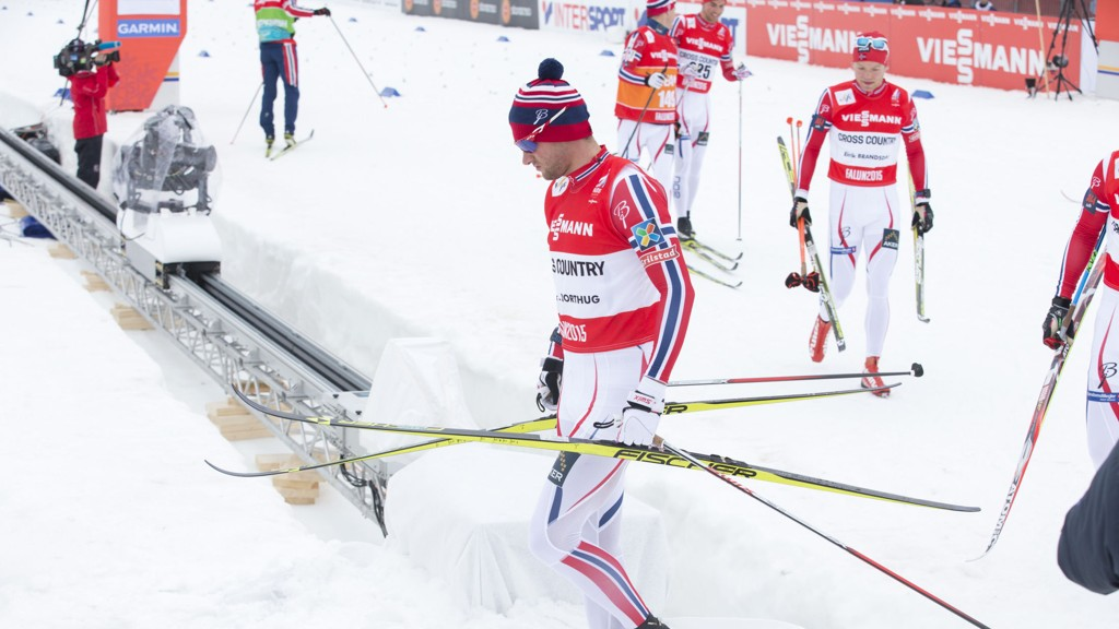 INGEN TERRORALARM: Det skal ikke være slått noen terroralarm i Falun der Petter Northug og de andre norske utøverne skal kjempe om VM-gull de neste dagene.