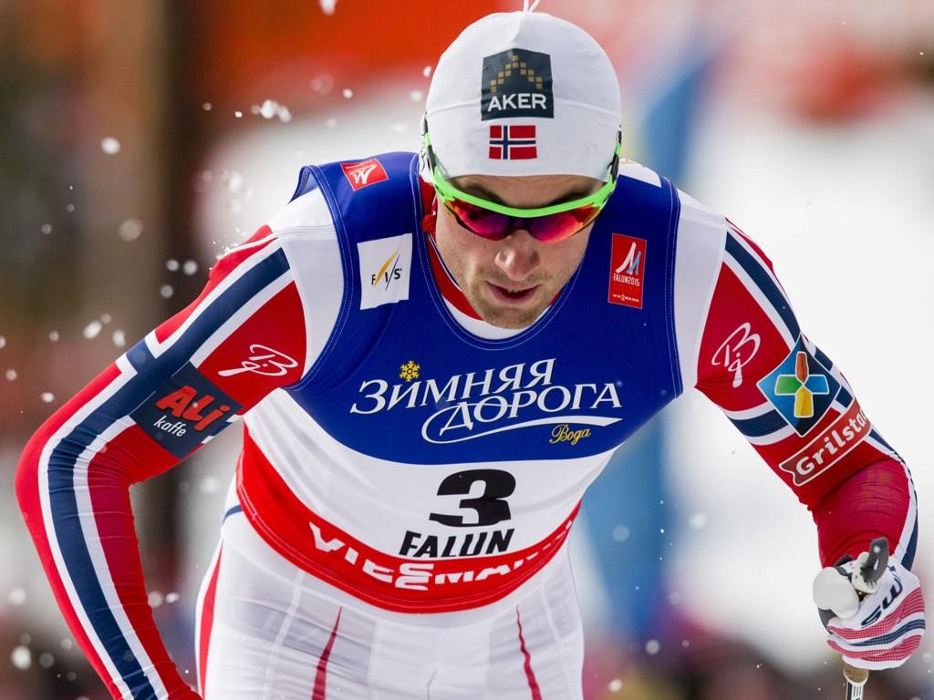 GÅR I SISTE HEAT: Alle de norske tok seg trygt videre fra prologen, men brødrene Northug, Petter og Tomas, og Eirik Brandsdal går alle det siste kvartfinaleheatet.