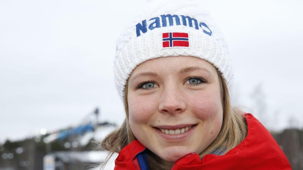 3. PLASS: Maren Lundby tok tredjeplassen i dagens kvalifisering.