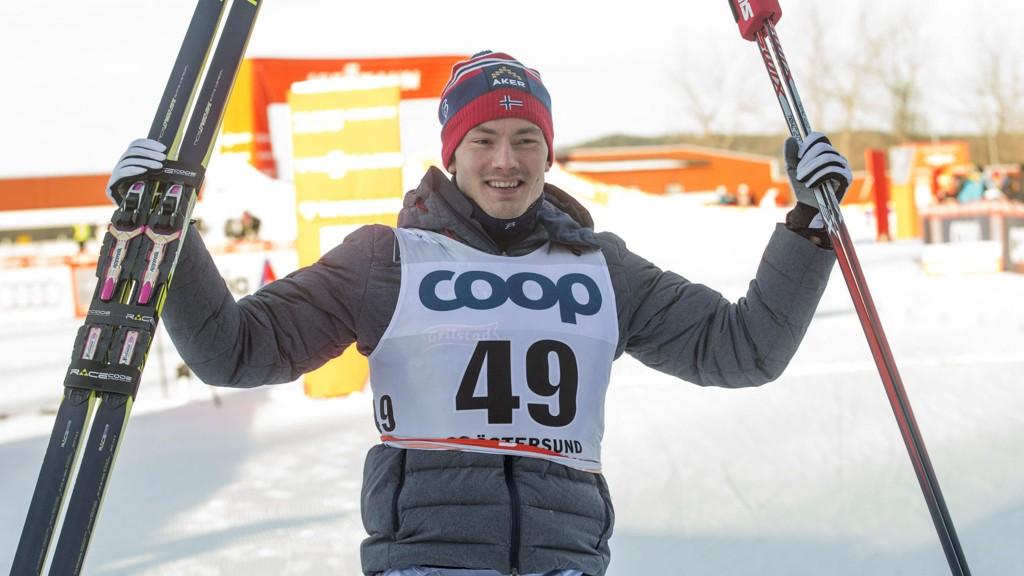 Finn-Hågen Krogh skal gå lagsprinten i VM med Petter Northug, sier sprinttrener Arild Monsen.