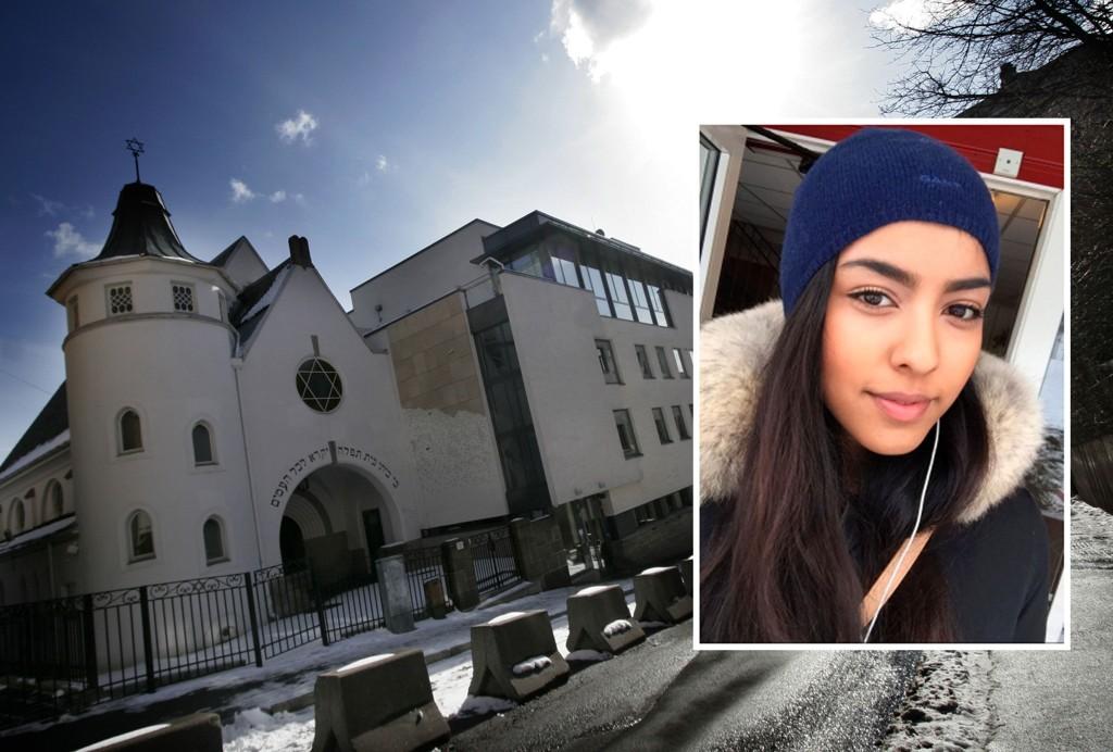 UNGT INITIATIV: Hajrah Arshad og en gruppe unge norske muslimer står bak initiativet om å slå ring rundt den jødiske synagogen i Oslo lørdag.
