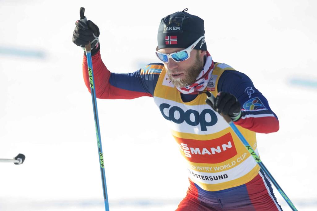 TIL FALUN: Martin Johnsrud Sundby kan komme til å dra til Falun onsdag.