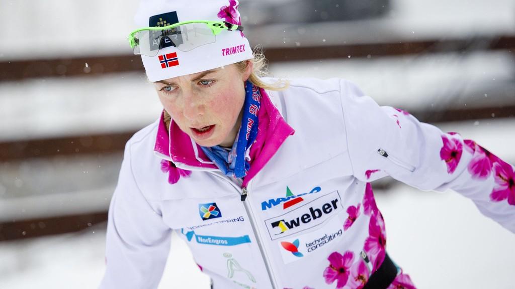 TIL FALUN: Kristin Størmer Steira er på vei til den svenske VM-byen.