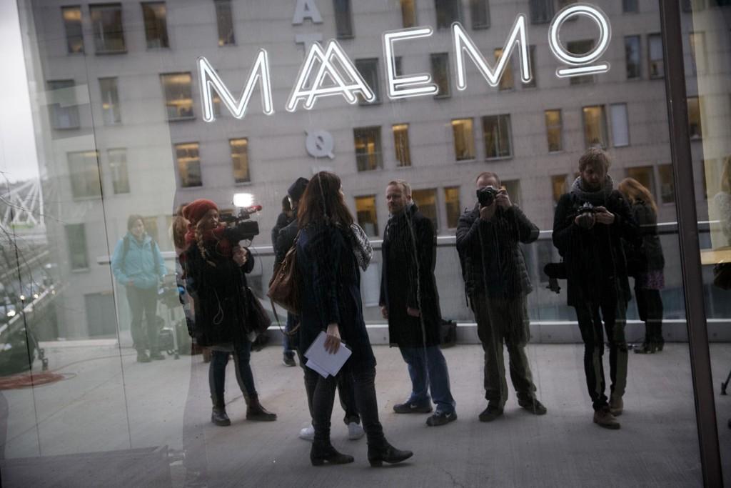 Torsdag ble det kjent at restauranten Maaemo får beholde sine to stjerner i Michelin-guiden. Pressen var på plass under kunngjøringen.